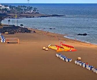 Puerto del Carmen Beach, Canary Islands Live Cam