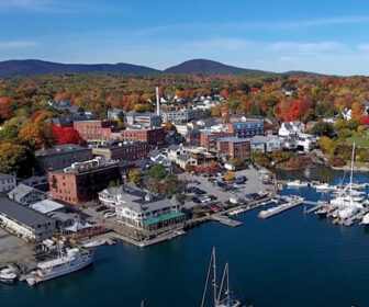 Aerial Video Drone Tour of Camden, ME