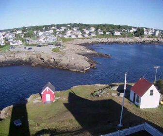 Nubble Lighthouse Webcam, York Beach Maine