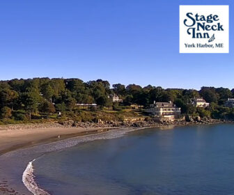 Stage Neck Inn Live Beach Cam, York Beach Maine