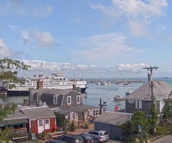 Woods Hole - Vineyard Haven Ferry Cam, Martha's Vineyard, MA