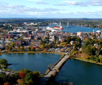 Aerial Video Tour of Portsmouth, NH