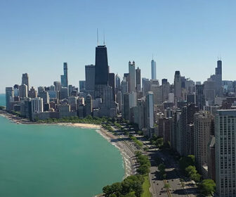 Chicago Aerial Tour in 4k