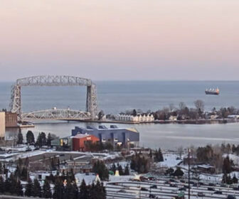 Duluth Bayfront Cam on Lake Superior