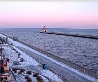 Duluth Canal Live Cam, Lake Superior