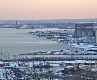 Duluth Minnesota Harbor Cam on Lake Superior