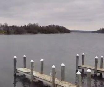 Charlevoix Ferry Cam, Lake Michigan in Ironton, MI