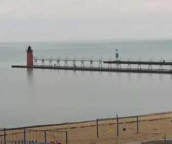 South Beach Live Cam, Lake Michigan