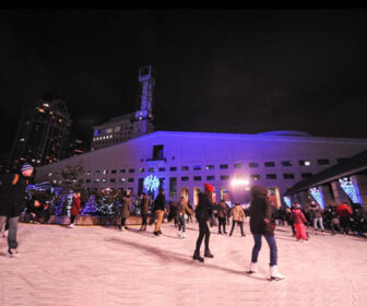 Mississauga Celebration Square Rink Cam, Canada