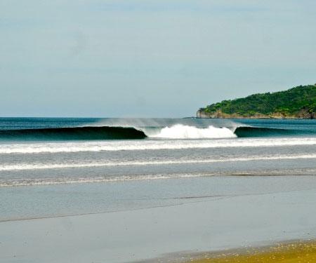 Witch's Rock Surf Camp Webcam. Tamarindo, Costa Rica