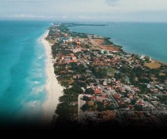 Playa Varadero, Cuba Scenic Aerial Beach Tour