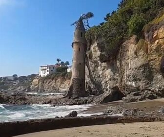 Video Tour, The Pirate Tower in Laguna Beach, California