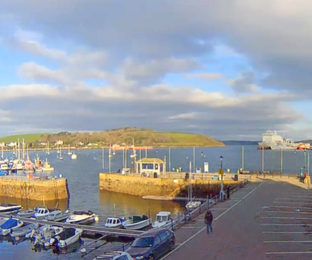 Falmouth Harbour, Cornwall, UK Webcam England