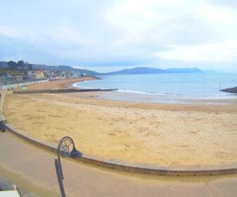 Lyme Regis, England Beach Webcam