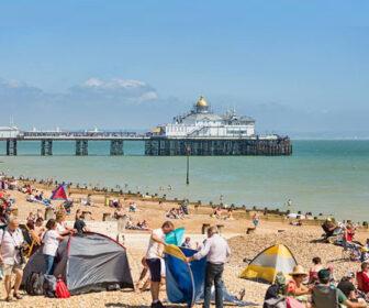 Eastbourne Beach Live Cam, Seafront England UK