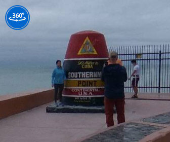 Southernmost Point of the Continental US, Key West, Florida 360° Tour
