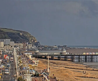 Hastings Pier, England Live Cam, UK, Great Britain