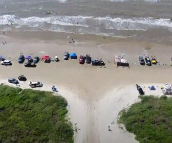 Crystal Beach, Bolivar Peninsula Highlights, Aerial Video Tour