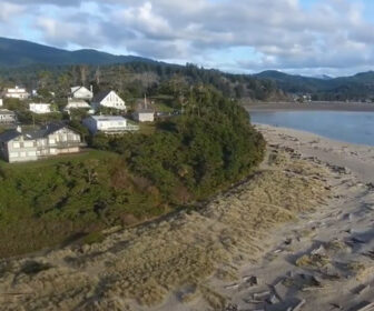 Aerial Tour of Lincoln City, OR Video