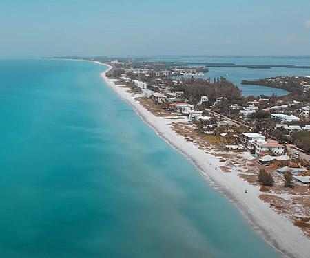 Aerial Tour of Longboat Key, FL