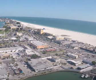 Aerial Tour of Treasure Island, FL