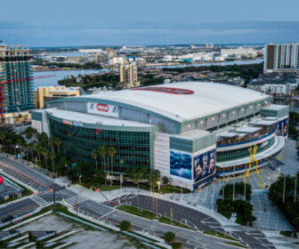 Downtown Tampa Live City Cam, Amalie Arena