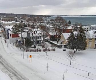 Downtown Harbor Springs, MI Live Cam, Lake Michigan