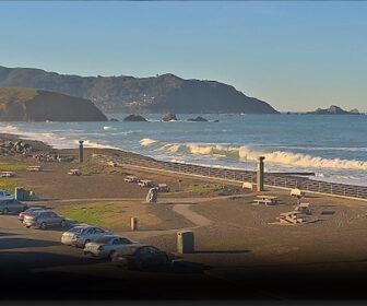 Mori Point, Pacifica Live Beach Surf Cam, San Francisco