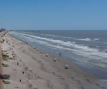 Babes Beach, Galveston Texas Webcam