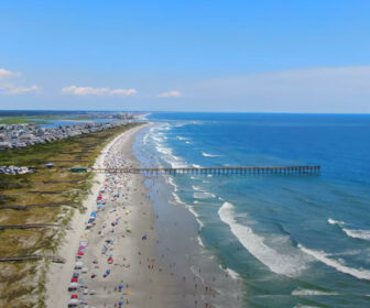 Aerial Tour of Sunset Beach, NC