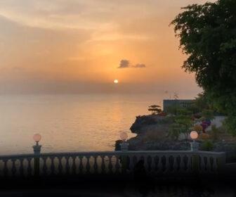 Haiti Sunset from Sunset Cove Port Salut in Haiti