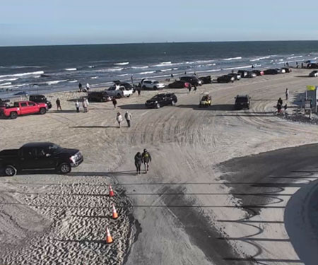 White Cap Beach Webcam Padre Island in Corpus Christi, TX