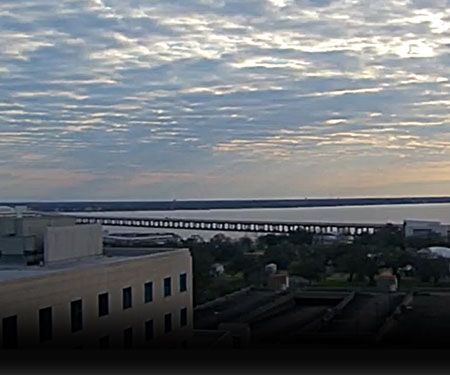 Biloxi Bay Bridge Weather Cam