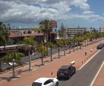 Mulligans Irish Center, Gran Canaria Live Cam, Maspalomas, Las Palmas, Spain