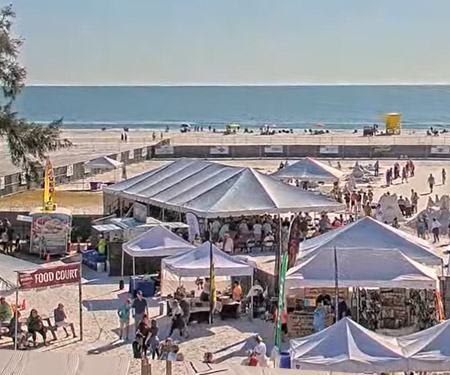 Siesta Beach, FL Live PTZ Cam