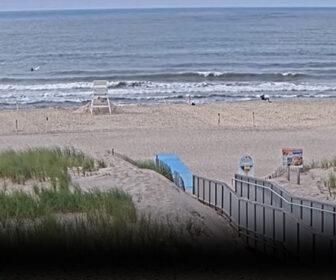 Ponquogue Beach, Hamptons Bay Live Surf Cam