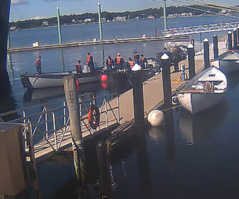 Massachusetts Maritime Academy Pier Cam, Cape Cod, MA